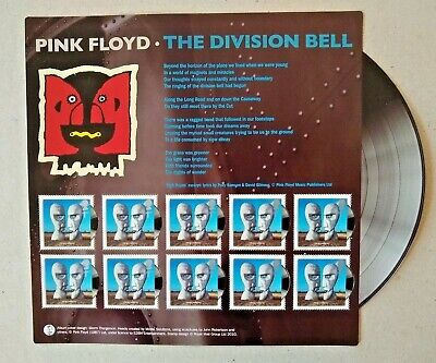 GB 2010 Classic Album Covers Pink Floyd The Division Bell Mini-sheet MNH