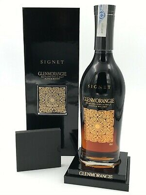 WHISKY GLENMORANGIE SIGNET SINGLE HIGHLAND MALT 70cl 46% IN BOX