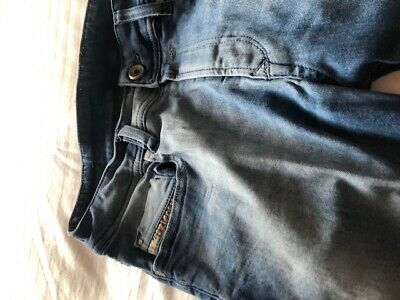 Boys Age 16 Diesel Blue Jeans Skinny Leg Good Condition 100% Authentic