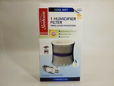 NEW SUNBEAM COOL Mist Humidifier with Filter Check Monitor