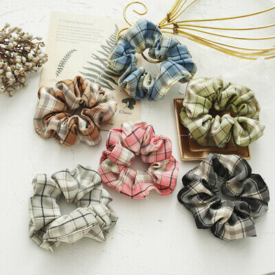 New Leopard Striped Velvet Hair Tie Hair Scrunchies Ponytail Holder Rope Elastic