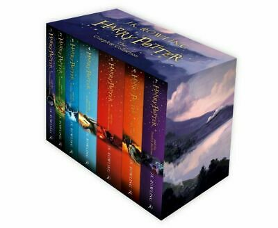 Harry Potter Complete Collection 7 Books Gift Boxed Set J.K Rowling Childrens Ed
