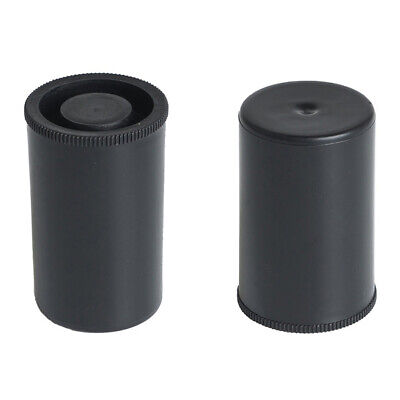 10pcs Plastic Empty Black Bottle Case 35mm Film Cans SH New Canisters Type S5Z5