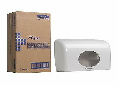 Wall Mounted Kimberly Clark Twin Mini/Standard Toilet Roll Dispenser Holder