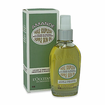 L'Occitane  • Almond Supple Skin Oil • 100ml • New • AUTHENTIC