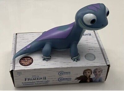 Disney Frozen 2 Bruni Salamander Mood Color Changing Night Light Figure *New*