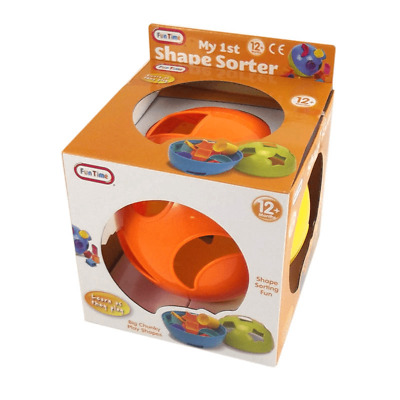 My First Shape Sorter Ball Baby Toddler Sorting Activity Toy Puzzle Learning