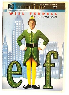 Elf (DVD, Infinifilm Edition, 2004) Will Ferrell, Jon Favreau, James Caan