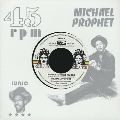 """NEW 7"""" Michael Prophet - Hold On To What You Got  /  Roots Radics - Cry Of The W"""
