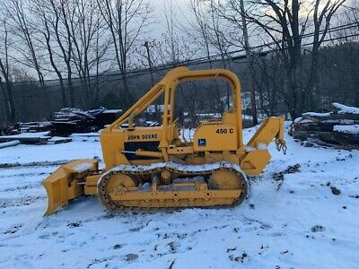 John Deere 450C With Forestry Package! NO RESERVE!