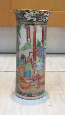 19th century Chinese vase -Famile Rose