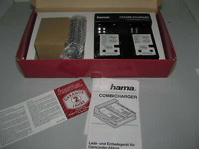 Vintage Hama Combi Charger Suits Sony, Sharp, JVC, Panasonic Brand New In Box