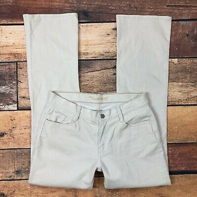 Old Navy The Sweetheart Corduroy Pants Size 4 Womens Bootcut Tan Beige