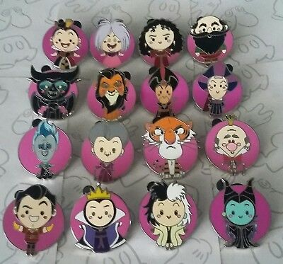 World of Evil Mystery Collection Villains Set Disney Choose a Trading Pin