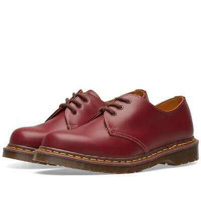 Dr. Martens 1461 Made In England Oxblood Zapato