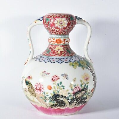 Chinese Exquisite Handmade porcelain vase