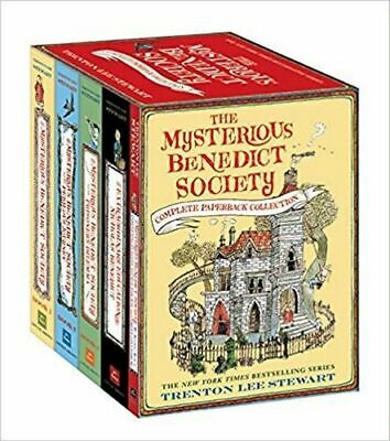 NEW The Mysterious Benedict Society Complete Paperback Collection By Trenton Lee