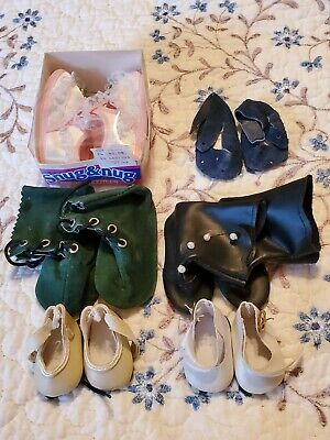 Doll Shoes lot 1 (6) pairs