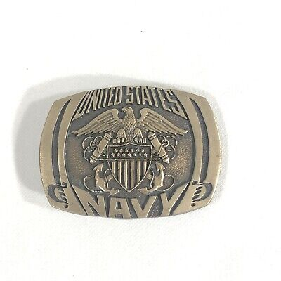 United States Navy PEWTER Belt Buckle #442