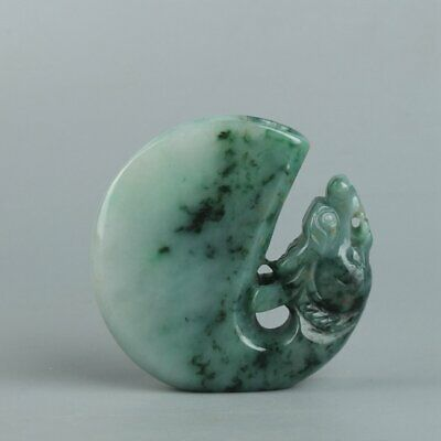 Chinese Exquisite Hand carved Jadeite jade cup