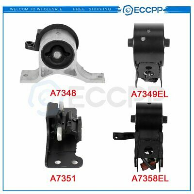 Engine Motor /& Trans Mount Set 4PCS 2003 for Nissan Maxima 3.5L for Manual.