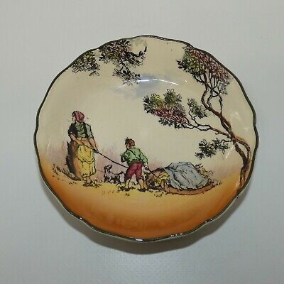 Royal Doulton Seriesware Old English Scenes The Gleaners small dish D6123