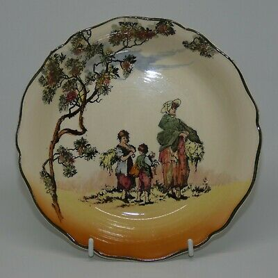Royal Doulton Seriesware Old English Scenes The Gleaners bowl D6123