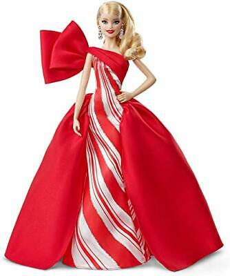 2019 Signature HOLIDAY BARBIE DOLL  AUTHENTIC MATTEL BRAND NEW - BOX IS DAMAGED