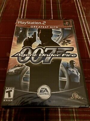 James Bond 007 in Agent Under Fire (Sony PlayStation 2, 2002) Sealed