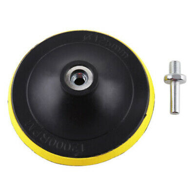 5 Sanding Disc Pad Abrasive Roll Lock Shank Fits Electric Grinder Attachment~
