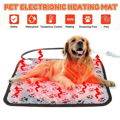 Pet Electric Heating Winter Warming Blanket Pad Waterproof Dog Cat Heater Mat