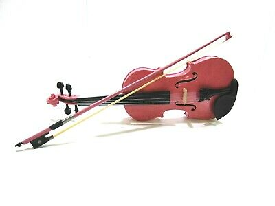 Student 1/2 Violin, Pink, by Gear4music-DAMAGED- RRP £48.99