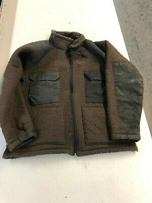 US Army Jacke Cold Weather Teddyfell Large Shirt Cold Weather 8415-01-228-1356
