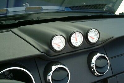 110140 3 Hole Gauge Cluster - Unpainted (Does Not Include Gauges) CDC
