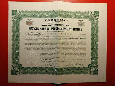 Mexican National Packing Company Limited