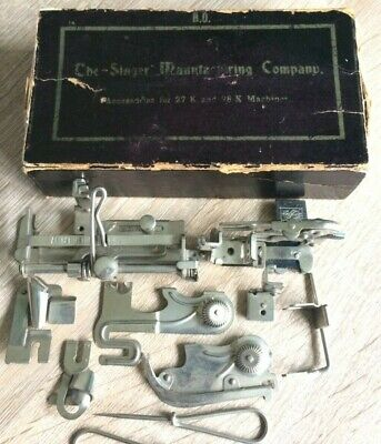 Singer Antique sewing machine attachments/Accessories