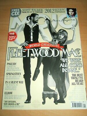 Mojo Magazine Issue 230 Jan 2013 features Fleetwood Mac Scott Walker +CD