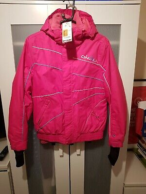 Girls O'Neill Pink Ski Jacket Size 164 (13 To 14) Brand New With Tags RRP £79.99