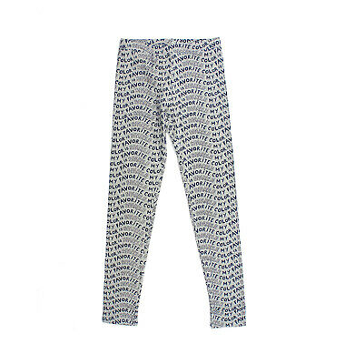New CREWCUTS Girls Size 12 Gray Everyday Leggings My Favorite Color Is Sparkle