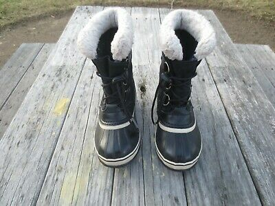 Sorel ~ Boys or Girls Black Snow Boots ~ Size 3