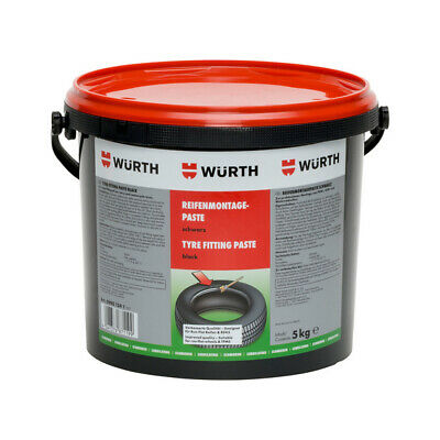***1 x 5kg WÜRTH BLACK TYRE FITTING PASTE***