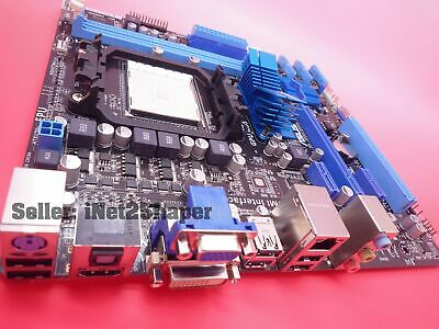 *NEW unused ASUS M4A88T-M LE Socket AM3 Micro ATX MotherBoard AMD 880G
