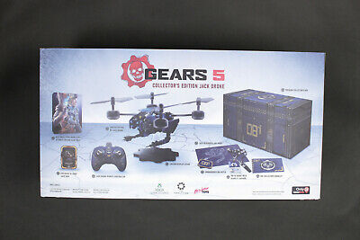 BRAND NEW IN BOX Gears of War 5 Collector's Edition Bundle Jack Drone Gamestop