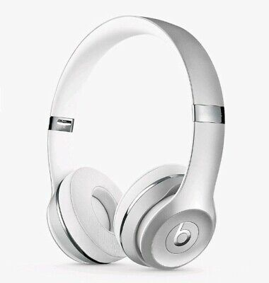 Beats by Dr. Dre Solo3 Wireless Headphones - Satin Silver White - BRAND NEW