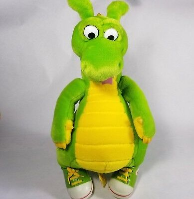 """Vintage The Adventures Of Dudley The Dragon Tales 14"""" Standing Stuffed Plush Toy"""