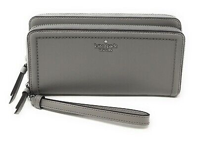 Kate Spade Patterson Drive Anita Leather Double Zip Phone Wristlet Wallet
