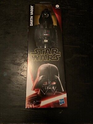 NIB  Star Wars Hero Series Darth Vader 12-in Action Figure w/ Light Saber Disney