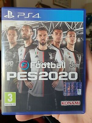 Efootball Pes 2020 Juventus Fc Limited Edition Ps4 Gioco Italiano Playstation 4