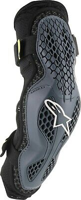 Alpinestars Sequence Elbow Protectors Anthracite/Yellow Sm/Md