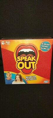 Hasbro Speak Out Board Game 16+